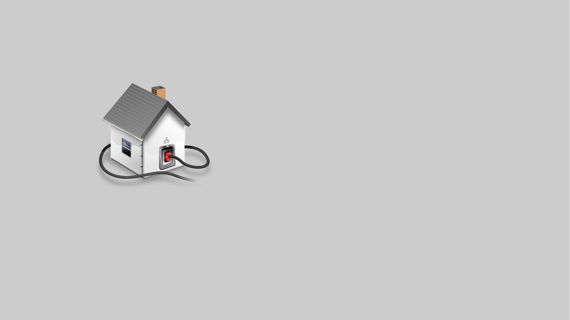 Выносной учет на границе участка  дома или стройплощадки