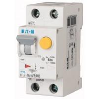 Диф. авт. выключатель PFL7-16/1N/B/003-A, 1P+N, 16A, хар-ка B, 10kA, 30mA, тип А, 2M 263535