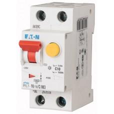 Диф. авт. выключатель PFL7-10/1N/C/003, 1P+N, 10A, хар-ка C, 10kA, 30mA, тип АC, 2M 263516
