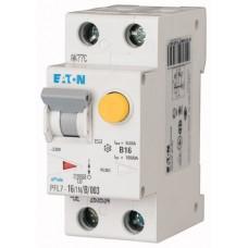 Диф. авт. выключатель PFL7-16/1N/C/003-A, 1P+N, 16A, хар-ка C, 10kA, 30mA, тип А, 2M 263538