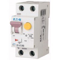 Диф. авт. выключатель PFL7-32/1N/C/003, 1P+N, 32A, хар-ка C, 10kA, 30mA, тип АC, 2M 263555