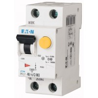 Диф. авт. выключатель PFL7-40/1N/C/003, 1P+N, 40A, хар-ка C, 10kA, 30mA, тип АC, 2M 263561