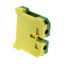 Зажим клеммный EK-4/35 (желто-зеленый)