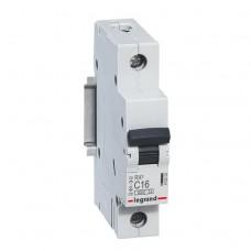 Выключатель автоматический Legrand RX3 1P C 16A 4,5кА 1M