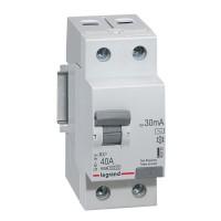 Выключатель автоматический Legrand RX3 2P C 40A 4,5кА 2M
