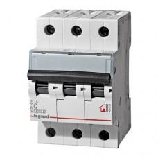 Выключатель автоматический Legrand RX3 3P C 63A 4,5кА 3M