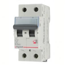Выключатель автоматический TX3 2P C 16A 6kA 2M
