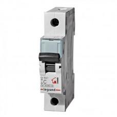 Выключатель автоматический TX3 1P C 6A 6kA 1M