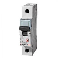 Выключатель автоматический TX3 1P C 10A 6kA 1M