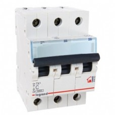 Выключатель автоматический TX3 3P C 50A 6kA 3M