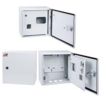 Корпус металлический ЩУ-1/1-1-6 IP54 (2 двери) (305х300х170) ЩУ-1/2 IP54
