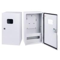 Корпус металлический ЩУ-3/1-0-3 IP54 (1 дверь) (505х300х200) ЩУ-3 IP54