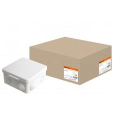 100*100*55мм ОП IP54 коробка распаячная с крышк,8 вх-вTDM