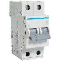 Автоматический выключатель   6/2/C (6kA)  Hager