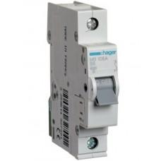 Автоматический выключатель   6/1/B (6kA)  Hager