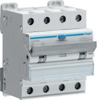 Дифференциальный автоматический выключатель  16/4/C/003 тип A (6kA) Hager