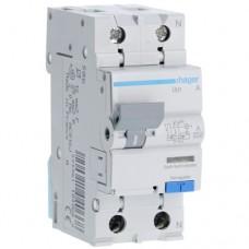 Дифференциальный автоматический выключатель 40/1N/B/003 тип A (6kA) Hager