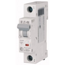 Авт. выключатель HL-B20/1, 1P, 20A, хар-ка B, 4.5kA, 1M