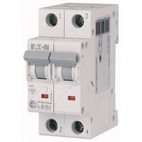 Авт. выключатель HL-B16/2, 2P, 16A, хар-ка B, 4.5kA, 2M