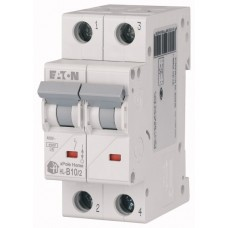 Авт. выключатель HL-B10/2, 2P, 10A, хар-ка B, 4.5kA, 2M