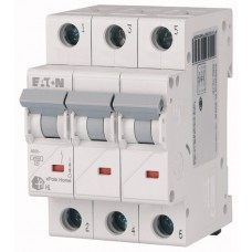 Авт. выключатель HL-C50/3, 3P, 50A, хар-ка C, 4.5kA, 3M