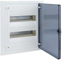 Щит внутренний  24 места, прозрачная дверца (382х318х72),  IP 40  Hager - Golf VF212TD