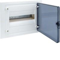 Щит внутренний  12 мест, прозрачная дверца (257х318х72),  IP 40  Hager - Golf VF112TD
