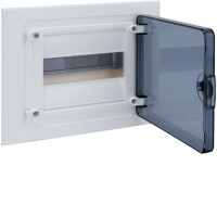 Щит внутренний   8 мест, прозрачная дверца (189х242х72),  IP 40  Hager - Golf VF108TD