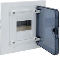 Щит внутренний   4 места, прозрачная дверца (189х170х72),  IP 40  Hager - Golf VF104TD