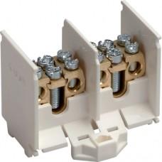 Зажим отводящий, 2-полюсный (На каждый полюс - 1х25мм2 + 2х10(16)мм2)