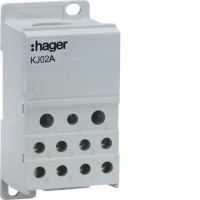 Блок распределительный (1x95мм2 + 2х25мм2 + 5х16мм2 + 4х10мм2) Hager