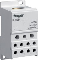 Блок распределительный (1x150мм2 + 2х25мм2 + 5х16мм2 + 4х10мм2) Hager