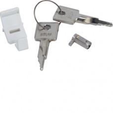 Замок дверной с 2-я ключами для щитков  Hager - Golf